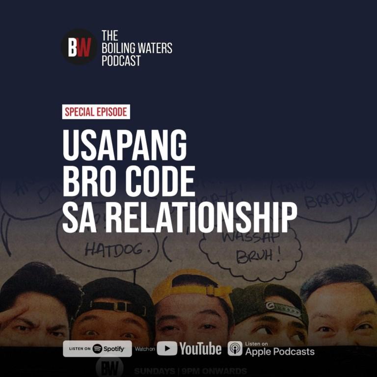 Special Episode: The Bro Code with Jericho Arceo, Khan Santos, Carl Pascua, Neo Rivera, Noah Correa