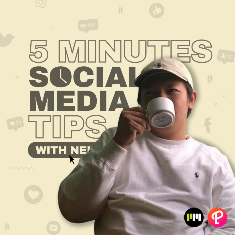 5 Minutes Social Media Tips with Neil