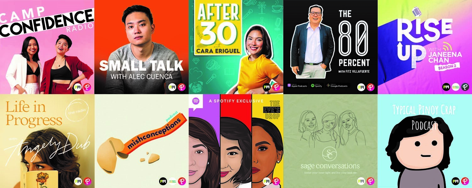 10 Filipino podcasters to motivate and remind you of the things you need to hear when faced with the evil whispers of procrastination