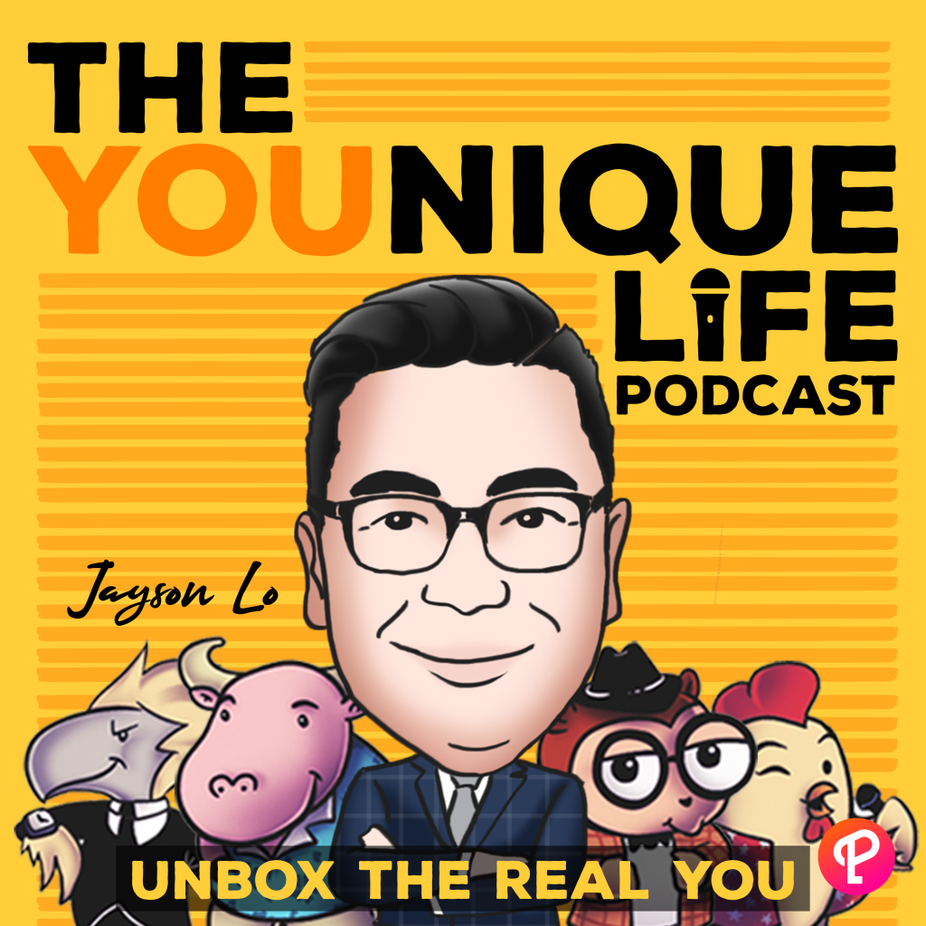 """""""The YOUnique Life"""" by Jayson Lo unboxes the wonders of your YOUnique personality. This podcast shows how to understand yourself better by knowing who you truly are."""