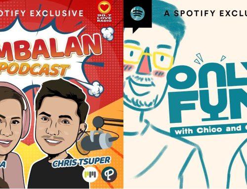 """""""Tambalan"""", """"OnlyFun"""" now Spotify Exclusives"""